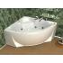 Акриловая ванна Поларис 140х140 угловая Aquatek