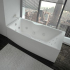 Акриловая ванна Феникс 190х90 прямоугольная Aquatek