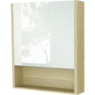 COMFORTY Зеркало-шкаф Марио-60 сосна лоредо