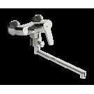 Oras 3942Y Saga Смеситель для ванны и душа с поворотным изливом (300 мм)