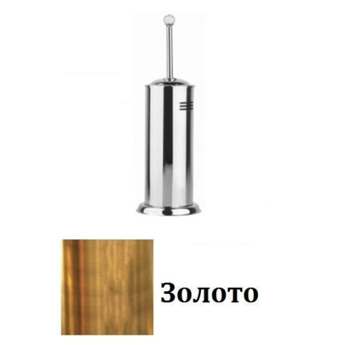 028K-20 IMIA Ершик туалетный 41х12х12 SWAROVSKI золото Dededimos