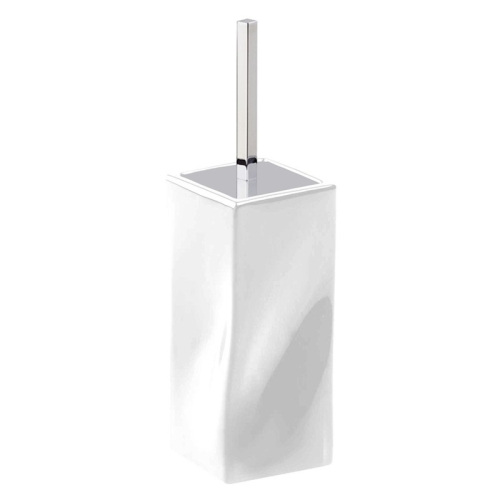 02T2-OA APPOGIO Ершик туалетный (хром) цвет белый Dededimos