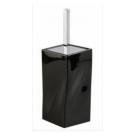 02T2-OM APPOGIO Ершик туалетный (хром) цвет черный Dededimos