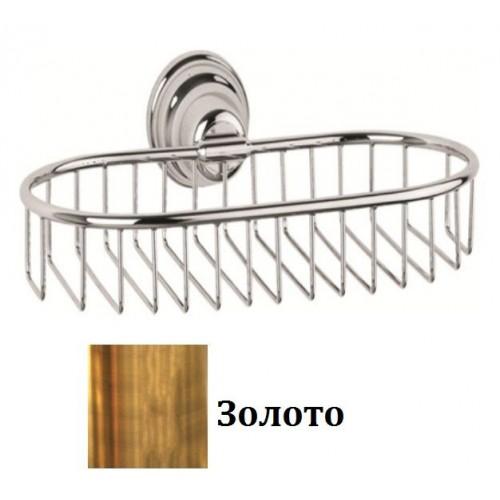 131B-20 IMIA Мыльница-решетка настенная 6х13х25 золото Dededimos