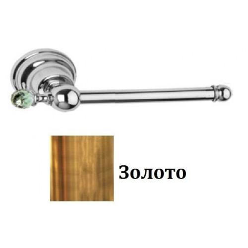 511B-20 IMIA Держатель для тулетной бумаги 95х9х19 SWAROVSKI золото Dededimos