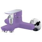Тритон 16304 Z Смеситель Triton для ванны короткий излив однорычажный фиолетовый