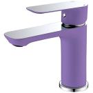 Тритон 14801 Z Смеситель Triton для умывальника однорычажный фиолетовый