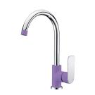 Тритон 14605 Z Смеситель Triton для кухни однорычажный фиолетовый