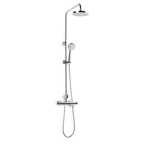 Roca 5A2718C00 душевая панель-термостат VICTORIA для ванны душа (хром)