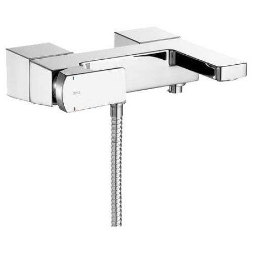 Roca 5A0201C00 смеситель L90 для ванны и душа (хром)
