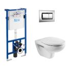 Roca 893100010 ПЭК MATEO Комплект: унитаз + инсталляция + кнопка + сиденье с микролифтом
