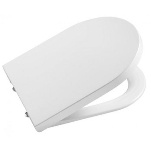 Roca 80152C00B сиденье INSPIRA ROUND укороченное с микролифтом (белый)