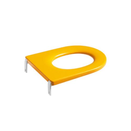 Roca 801116714 сиденье HAPPENING для детского унитаза (желтое)