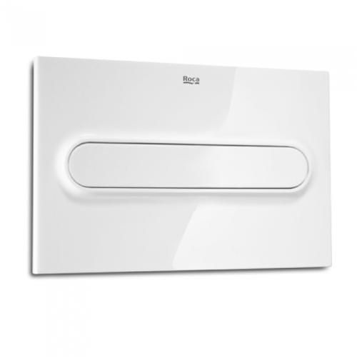 Roca 890095100 клавиша PRO одинарного смыва PL1 (белый)