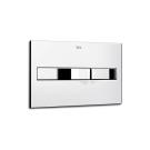 890096001 смывная клавиша PRO двойная PL2 хром Roca