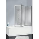 Шторка для ванной Cezares ART-GOTICO-V-32-134/145-Gt-Cr