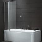 Шторка для ванной Cezares TRIUMPH-V-11-120-P-Cr-L