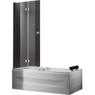 Шторка для ванной Cezares TRIUMPH-V-21-120-C-Cr