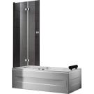 Шторка для ванной Cezares TRIUMPH-V-21-120-P-Cr-R