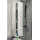 COMFORTY Шкаф-колонна Милан-40 белый