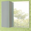 COMFORTY Зеркало-шкаф Рим-80 серый