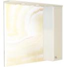 COMFORTY Зеркало-шкаф Сочи-100 белый