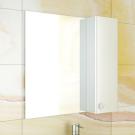 COMFORTY Зеркало-шкаф Флоренция-70 белый