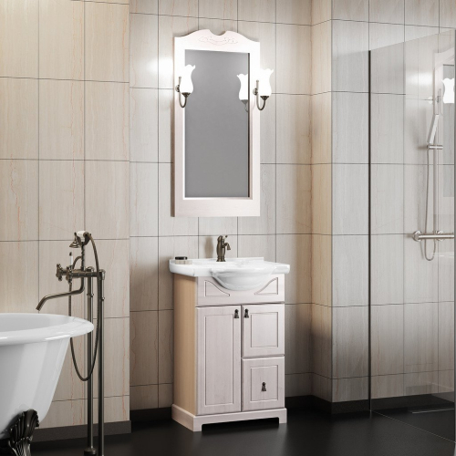 Комплект мебели Opadiris Клио 50 Орех Антикварный нагал или Белый Weiss