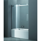 Шторка для ванной Cezares STYLUS-V-1-170/145-C-Cr-L