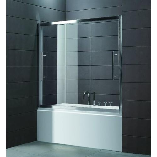 Шторка для ванной Cezares TRIO-V-22-170/145-P-Cr
