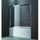 Шторка для ванной Cezares TRIO-V-22-180/145-C-Cr