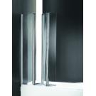 Шторка для ванной Cezares TRIO-V-3-90/140-C-Cr-R