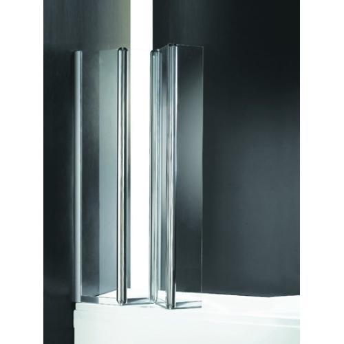 Шторка для ванной Cezares TRIO-V-3-120/140-C-Cr-R