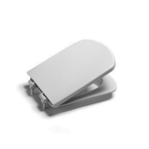Roca 90000410Z Сидение Dama Senso белое микролифт с крышкой быстросъемное