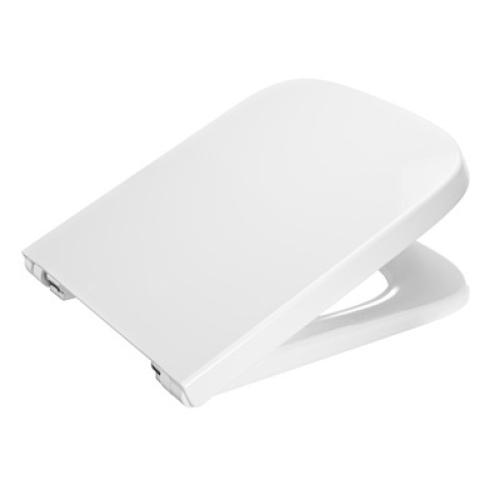 Roca 80178B004 Сидение Dama-N белое с крышкой для укороченного унитаза