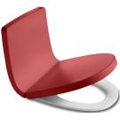 Roca 801652F3T Сидение Khroma микролифт с крышкой красное