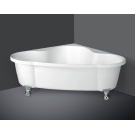 BelBagno Акриловая ванна угловая 1500х1500х600 BB07-CRM