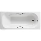 Roca 2334G0000 ванна MALIBU с отверстиями под ручки 160х70 (белый)