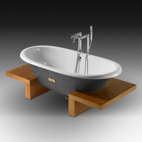 Roca 233650000 Ванна чугунная Newcast 170x85