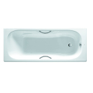 Roca 2310G000R Ванна чугунная Malibu 160x75 см, модель с ручками