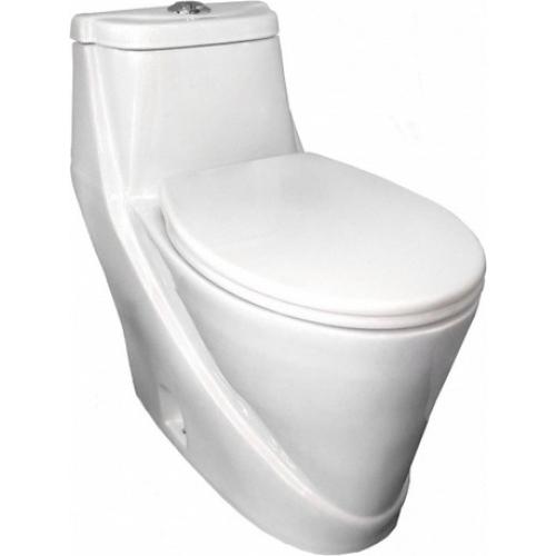 Унитаз Моноблок Laguna 710703 с легкосъемным сиденьем дюропласт