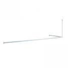 Угловой карниз для ванной комнаты Iddis 040 040A200I14