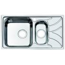 Мойка для кухни нержавеющая сталь полированная 1 1/2 чаша слева Iddis Arro ARR78PXi77