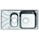 Мойка для кухни нержавеющая сталь полированная 1 1/2 чаша слева Iddis Arro ARR78PZi77