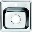 Мойка для кухни нержавеющая сталь полированная Iddis Strit STR38P0i77