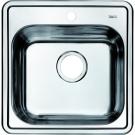Мойка для кухни нержавеющая сталь полированная Iddis Strit STR48P0i77