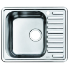 Мойка для кухни нержавеющая сталь полированная чаша слева Iddis Strit STR58PLi77