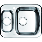 Мойка для кухни нержавеющая сталь полированная 1 1/2 чаша слева Iddis Strit STR60PXi77