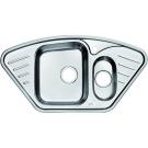 Мойка для кухни нержавеющая сталь полированная Iddis Strit STR96PCi77