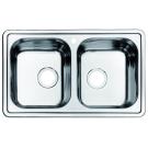 Мойка для кухни нержавеющая сталь шелк Iddis Strit STR78S2i77